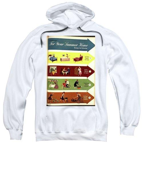 Arrows And Illustrations Sweatshirt