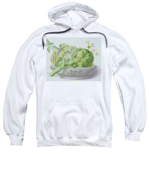 Artichokes Sweatshirt by Lizzie Riches