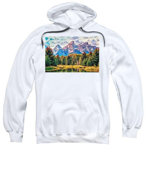 Autumn In The Tetons Sweatshirt