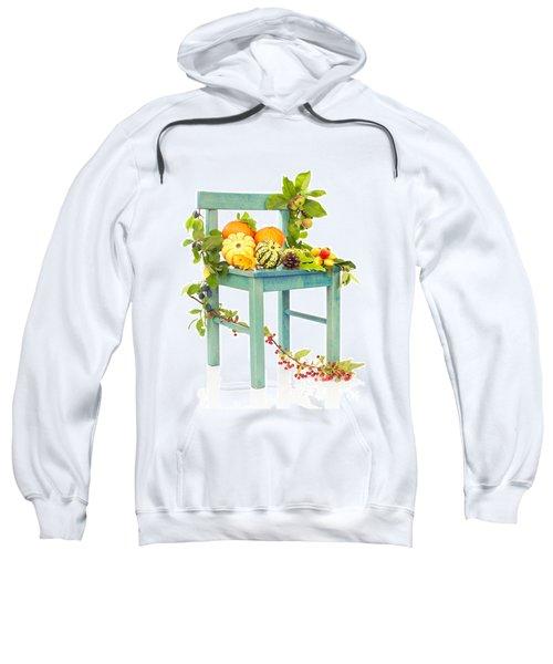 Autumn Still Life Chair Sweatshirt