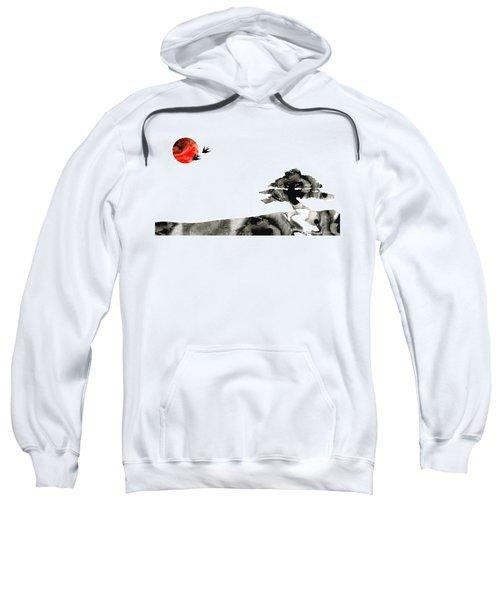 Awakening - Zen Landscape Art Sweatshirt