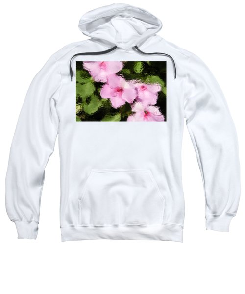 Azaelas Under Glass Sweatshirt