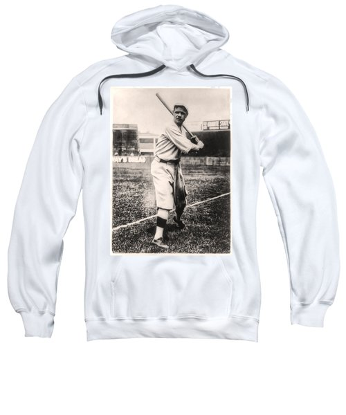 Babe Ruth Sweatshirt by Bill Cannon