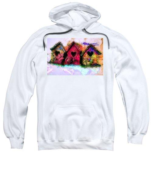 Baby Birdhouses Sweatshirt