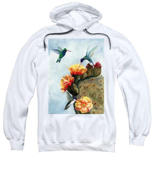 Baby Makes Three Sweatshirt