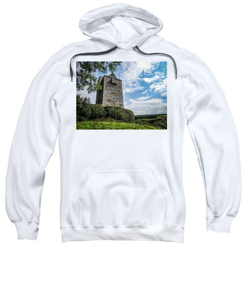 Ballinalacken Castle In Ireland's County Clare Sweatshirt