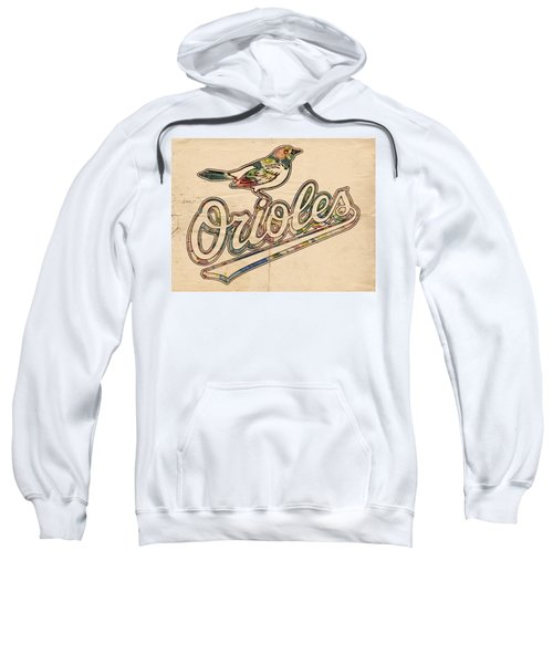 Baltimore Orioles Stylish Logo Sweatshirt