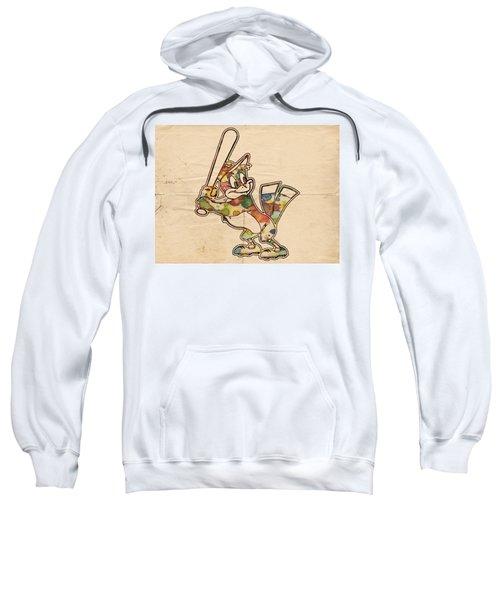 Baltimore Orioles Vintage Logo Sweatshirt