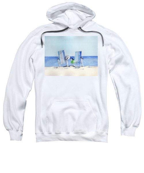 Beach Chairs Sweatshirt