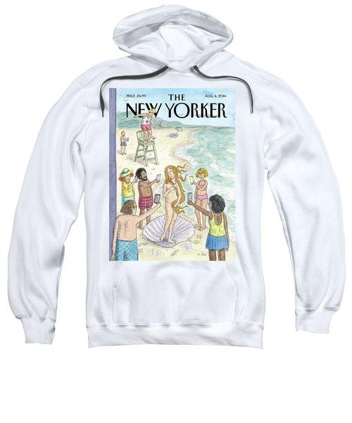Venus On The Beach Sweatshirt