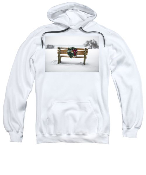 Bench And Wreath Sweatshirt