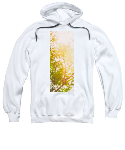 Beneath A Tree  14 5199   Diptych  Set 1 Of 2 Sweatshirt