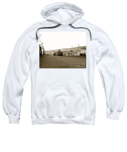Berkeley California Train Station Circa 1902 Sweatshirt