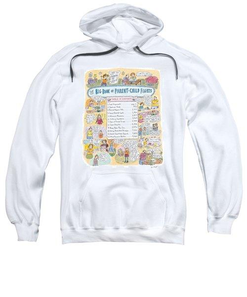 'big Book Of Parent-child Fights' Sweatshirt
