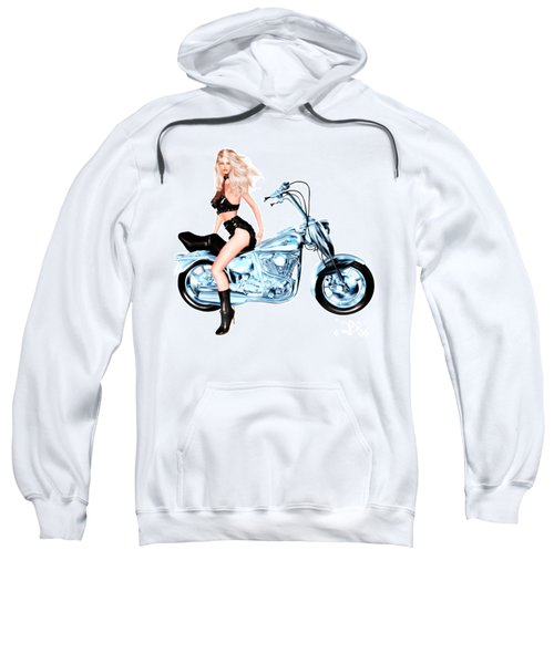 Biker Girl Sweatshirt