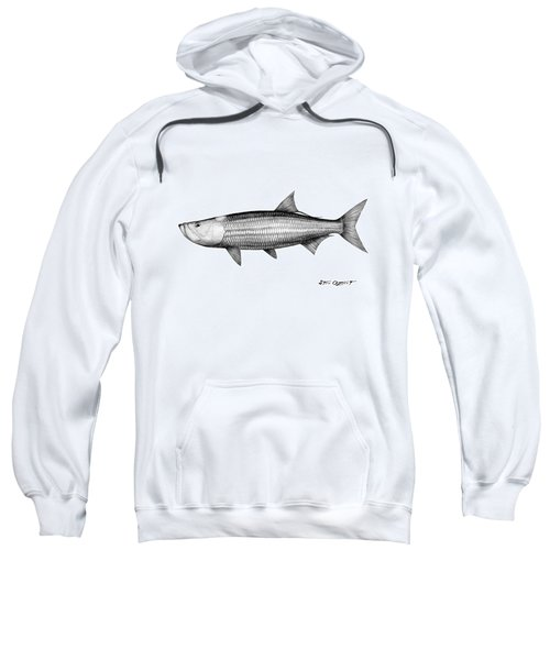 Black And White Tarpon Sweatshirt