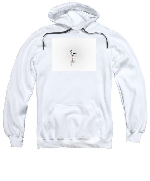 Black Necked Stilt Sweatshirt