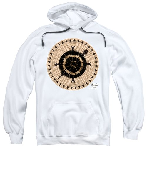 Black Shell Sweatshirt