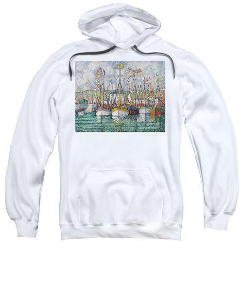 Blessing Of The Tuna Fleet At Groix Sweatshirt