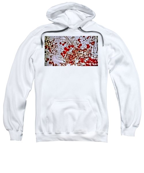 Blood Spatter Sweatshirt