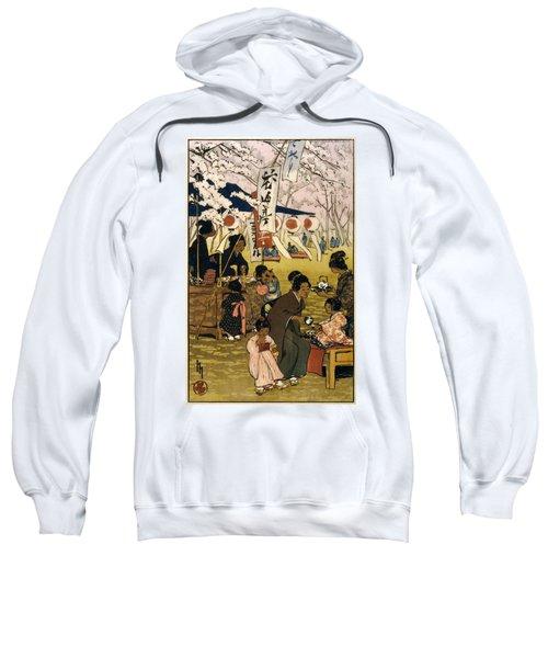 Blossom Time In Tokyo Sweatshirt