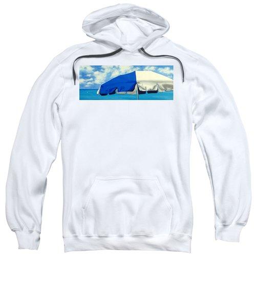 Blue Beach Umbrellas 1 Sweatshirt