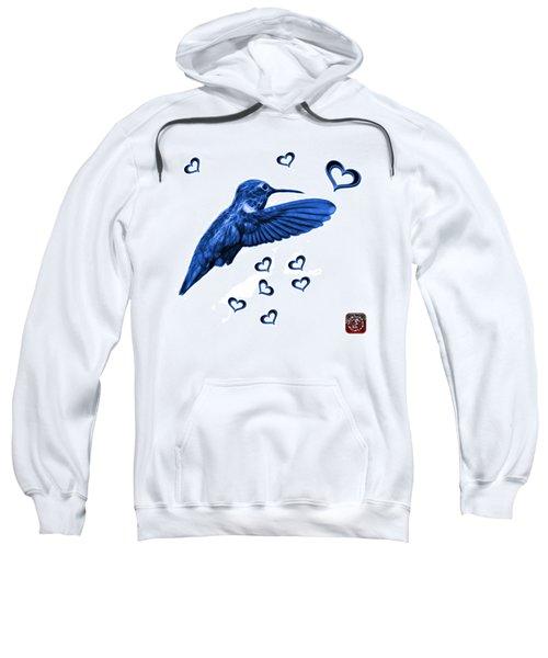 Blue Hummingbird - 2055 F S M Sweatshirt