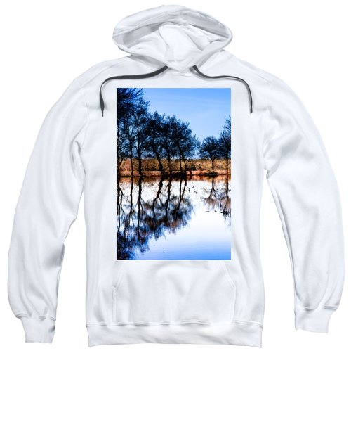 Blue Mirror Sweatshirt