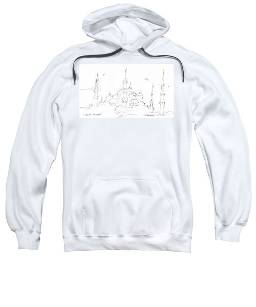 Blue Mosque Sweatshirt