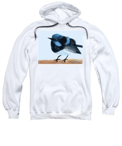 Blue Wren Beauty Sweatshirt
