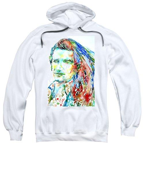Bono Watercolor Portrait.2 Sweatshirt