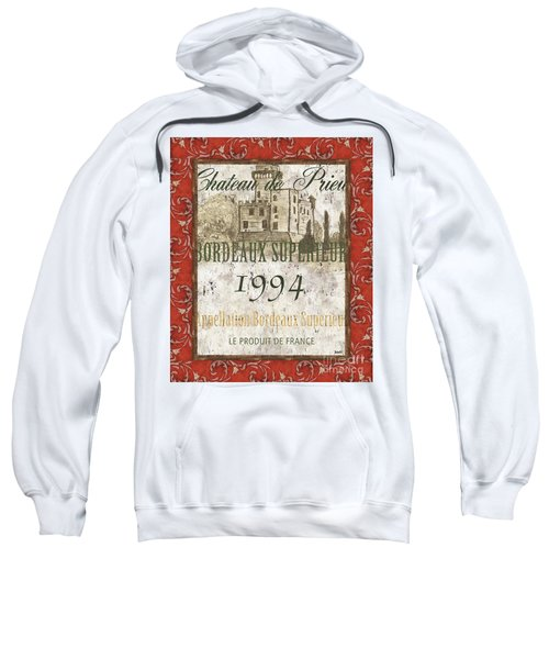 Bordeaux Rouge 2 Sweatshirt