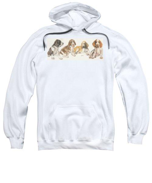 Bracco Italiano Puppies Sweatshirt