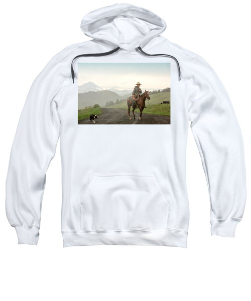 Braving The Rain Sweatshirt