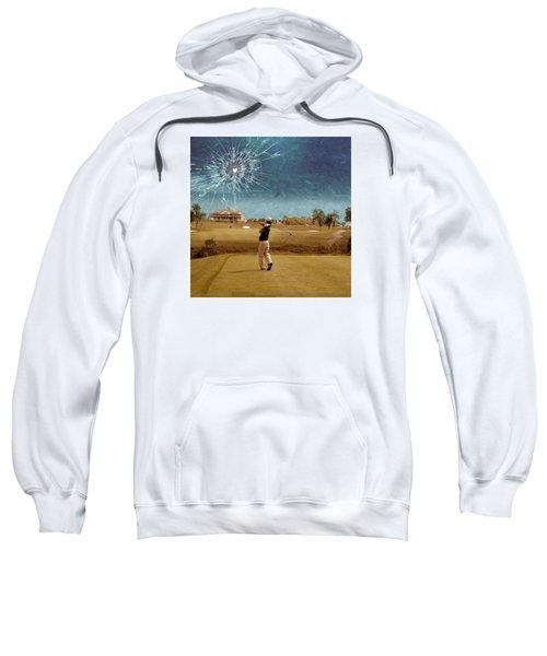 Broken Glass Sky Sweatshirt