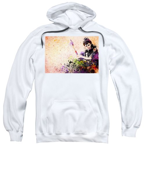 Bruce Springsteen Splats 2 Sweatshirt by Bekim Art