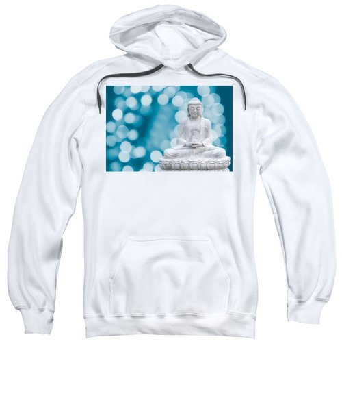 Buddha Enlightenment Blue Sweatshirt
