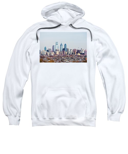 Buildings In A City, Comcast Center Sweatshirt by Panoramic Images