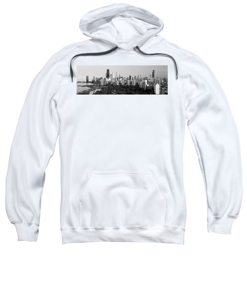 Buildings In A City, View Of Hancock Sweatshirt