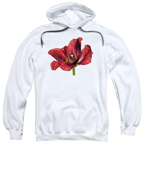 Burning Tulip Sweatshirt
