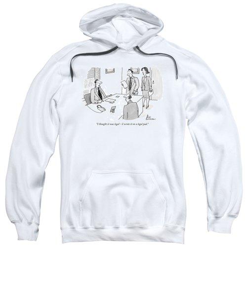 Businessman To Associates Sweatshirt