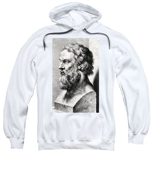 Bust Of Plato  Sweatshirt