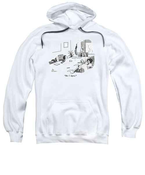 But I Digress Sweatshirt