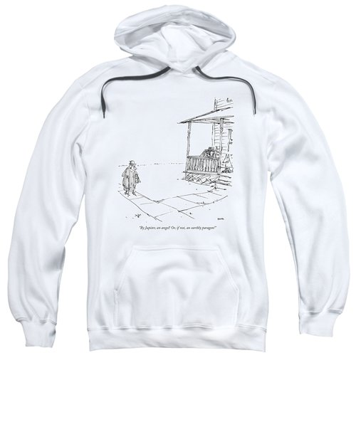 By Jupiter, An Angel! Or, If Not, An Earthly Sweatshirt