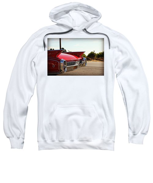 Cadillac In Wine Country  Sweatshirt