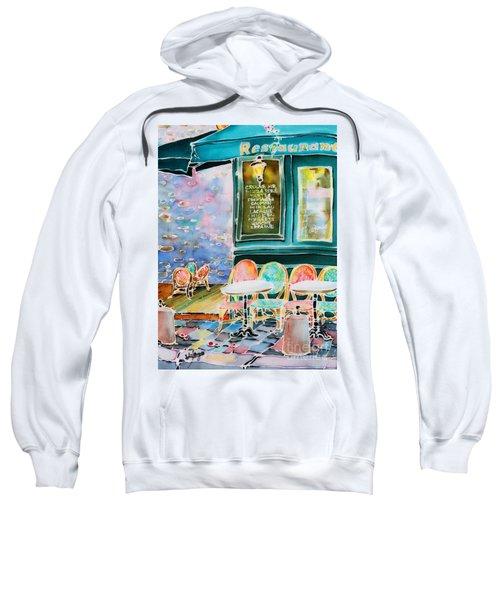Cafe In Montmartre Sweatshirt