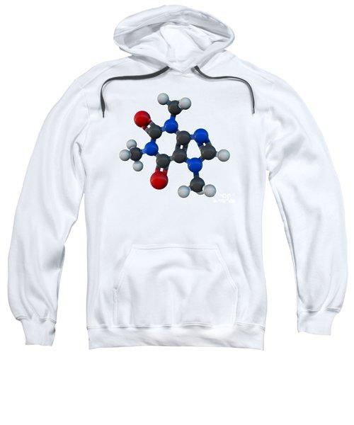 Caffeine Molecular Model Sweatshirt