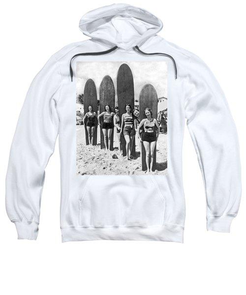 California Surfer Girls Sweatshirt