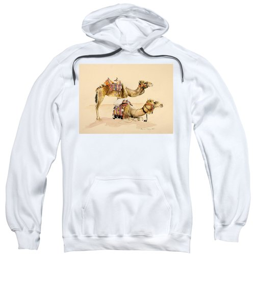 Camels From Petra Sweatshirt
