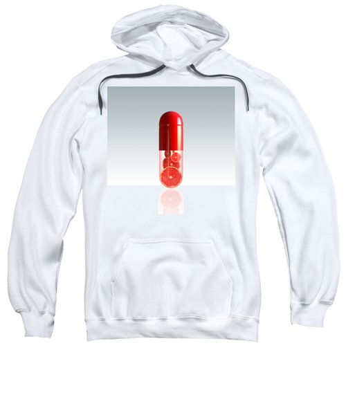 Capsule With Citrus Fruit Sweatshirt by Johan Swanepoel